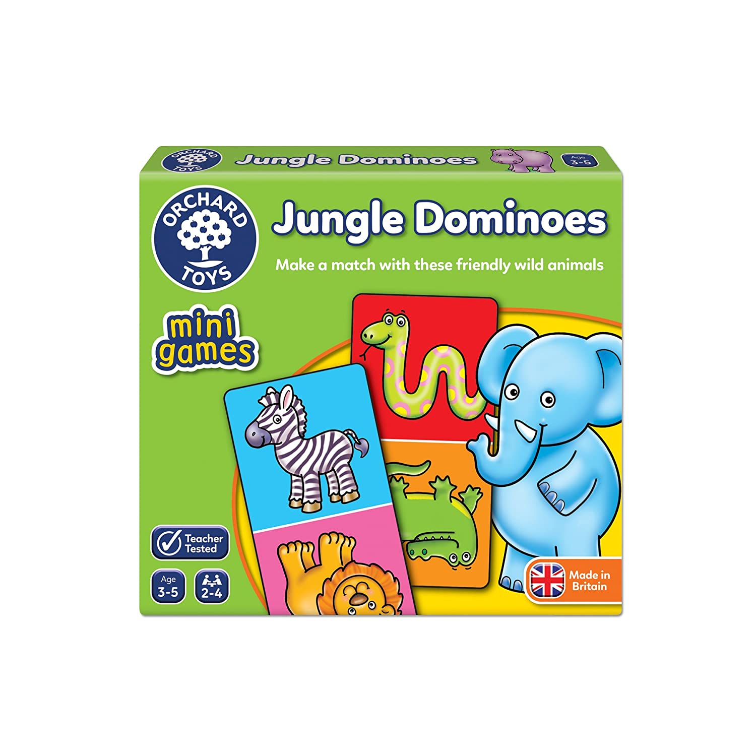 Orchard Toys Jungle Dominoes Mini Game 361