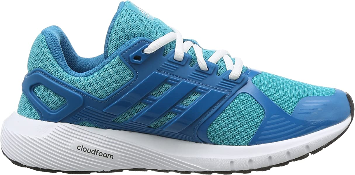 the latest f2391 692a7 adidas Damen Duramo 8 W Laufschuhe Blau (Energy BlueMystery PetrolCore  Black