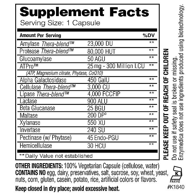 Enzymedica Digest Gold 45 Capsules: Amazon.es: Salud y ...