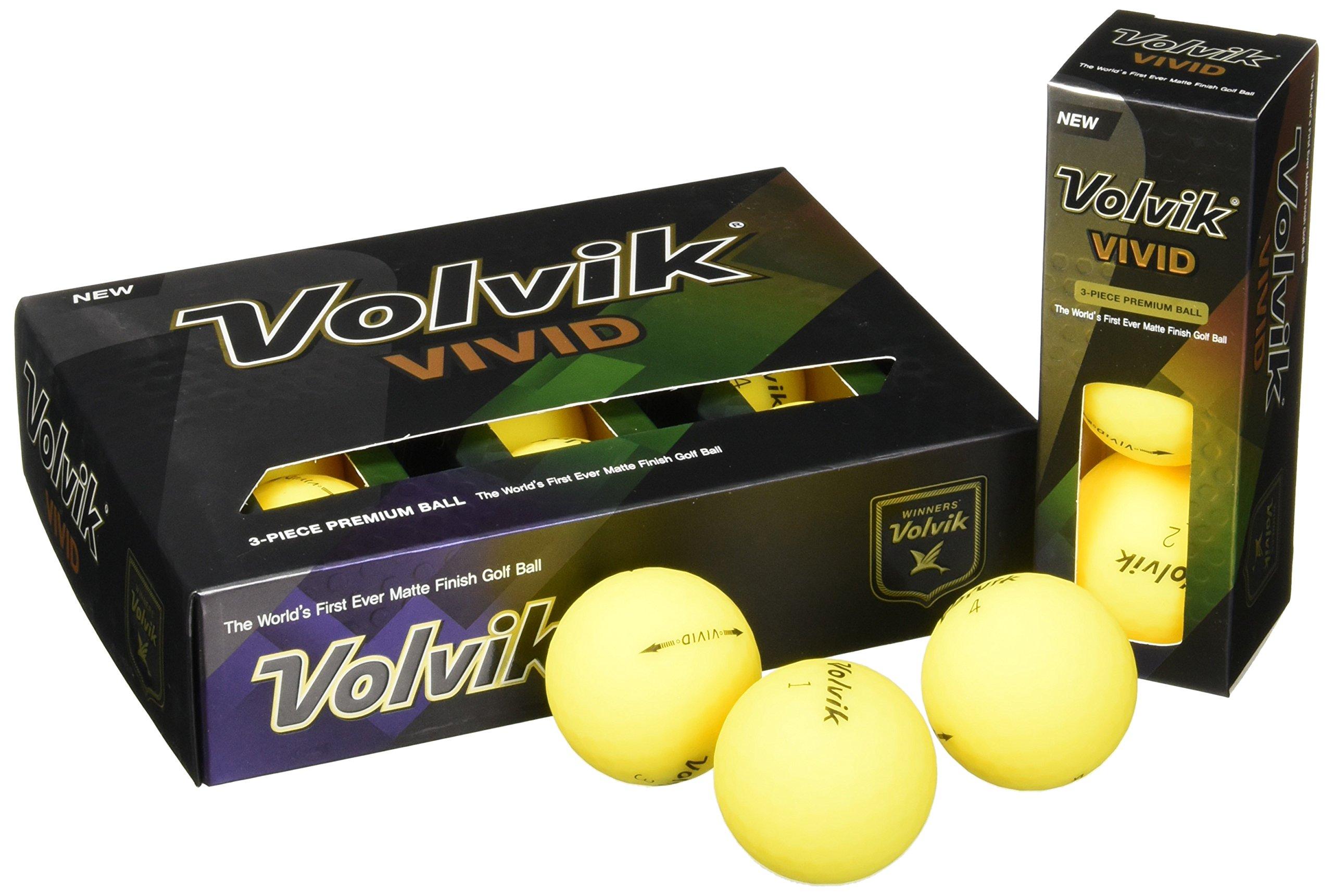 Vivid Yellow by Volvik
