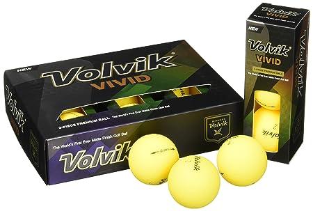 Volvik Vivid Golf Balls, Prior Generation One Dozen