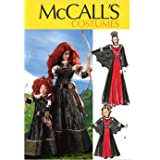 McCall Pattern Company M6817 Misses'/Children's/Girls' Costumes Sewing Template, Size MISS (SML-MED-LRG-XLG)