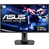 "Asus VG278Q 27"" Full HD 1080P 144Hz 1ms Eye Care G-Sync Compatible Adaptive Sync Gaming Monitor with DP HDMI DVI 3YRS…"