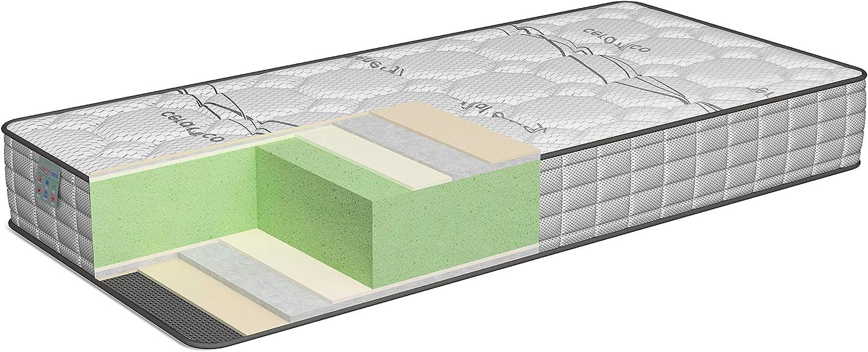 TECNOCOLCHÓN - 🛌💤 Colchón Viscoelástico Memory Sens Visco | 180 x 200 cm y 22 cm de Altura | Reversible Verano-Invierno | Certificado Oeko-Tex | ...