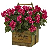 Nearly Natural Bougainvillea Flowering Plant in