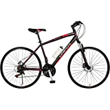 UNIFOX ROAD RACER 700C Road cum City Hybrid bike with Disc Brake and 21 Speed Shimano Gears