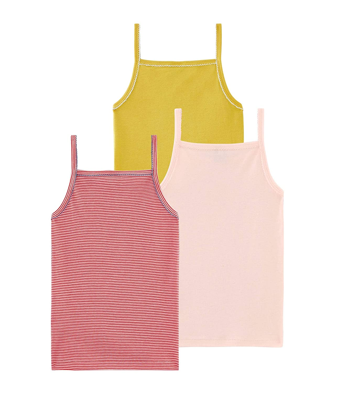 Pack of 3 Petit Bateau Girls Vest