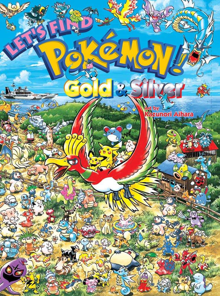 LET'S FIND POKÉMON! GOLD & SILVER (Let's Find Pokemon)