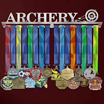Wall Mounted Award Metal Holder 100/% Stainless Steel Rack for Champions VICTORY HANGERS This Girl is on Fire Medal Hanger Display