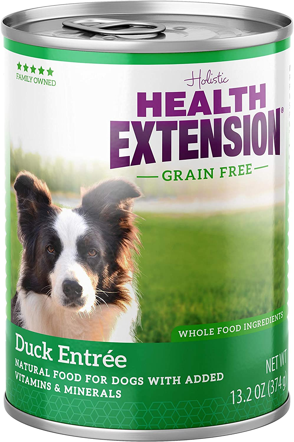 Health Extension Grain Free Duck Entree Canned Wet Dog Food - (12) 13.2 Oz Cans