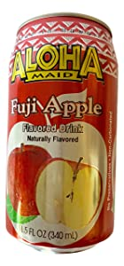 Aloha Maid Juice 11.5-Ounce (Pack of 24) (Fuji Apple)