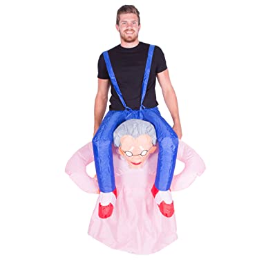 offer discounts 100% authentic better Bodysocks Adult Inflatable Grandma Fancy Dress Costume