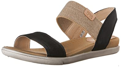 42bae4a766f0 Ecco Women s ECCO DAMARA SANDAL Sling Back Sandals Black Size  2.5 ...