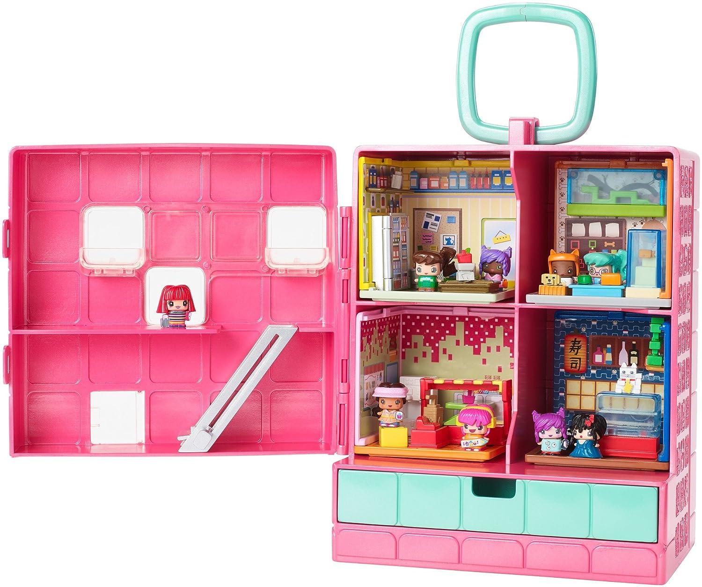 My Mini Mixieq S Playset Mattel Estuche Port Til Amazon Com Mx  # Muebles Megamall