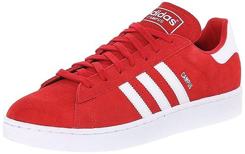 9249e42a80 Adidas Uomo Campus 2012 Scarpe da Ginnastica Rosso Size: 44 EU ...