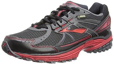 b6928353f4059 Brooks Mens Adrenaline ASR 10 GTX Running Shoes 1101481D694  Black Anthracite Lava 14 UK