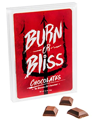 Burn or Bliss Chocolates: Ridiculously Spicy Roulette Challenge. From Vat19.