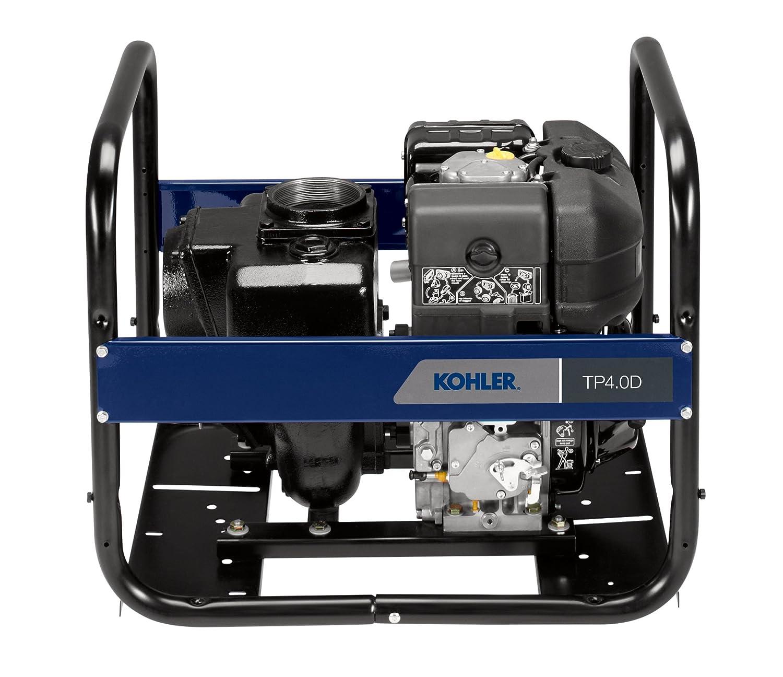 """Amazon Kohler 4"""" Diesel Trash Pump with Kohler Diesel Engine"""