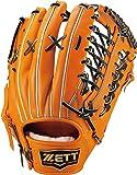 ZETT(ゼット) 硬式野球 プロステイタス プレミアム グラブ(グローブ) 外野手用 メンテナンス保証付き 日本製 BPROG8T