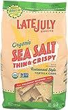 Late July, Chip Tortilla Sea Salt Organic, 11 Ounce