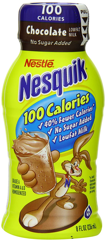 Amazon.com : Nestle Nesquik Ready-To-Drink Flavored Milk, 100 ...