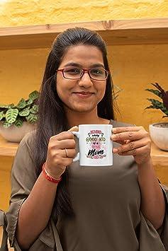 Amazon Com Behind Every Good Kid Is A Great Mom Sweet Coffee Tea Mug For Mother Who Is Enjoying Motherhood Doubtful Moms Or Any Mom Who S Raising Great Kids 11oz Kitchen