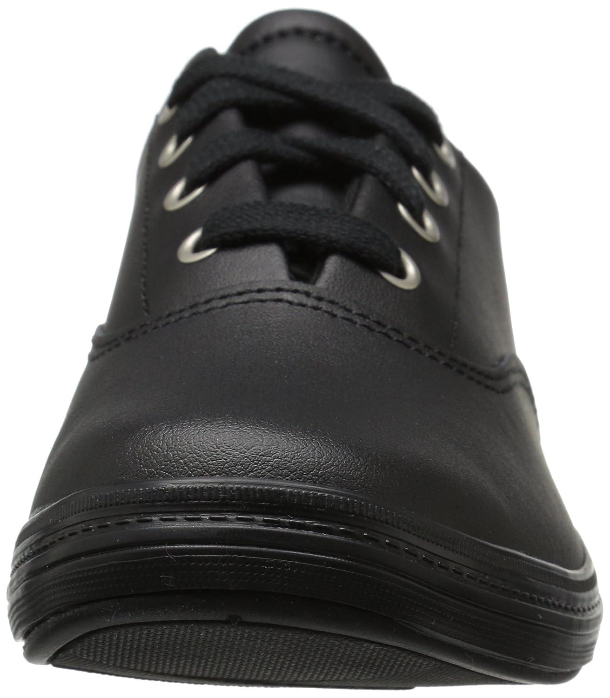Grasshoppers Women's 9.5 Janey Ii Fashion Sneaker B01K59EZG0 9.5 Women's W US|Black Leather 2c46ce