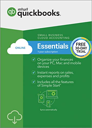 QuickBooks Online Essentials [FREE TRIAL]