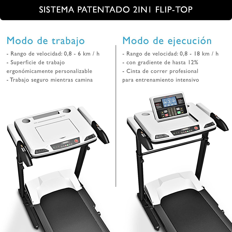 Sportstech Cinta de Correr Profesional e innovadora Deskfit 2 en 1 ...