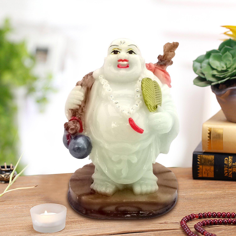 Icrafts Happy Buddha Glow In The Dark(Laughing Buddha) Feng Shui