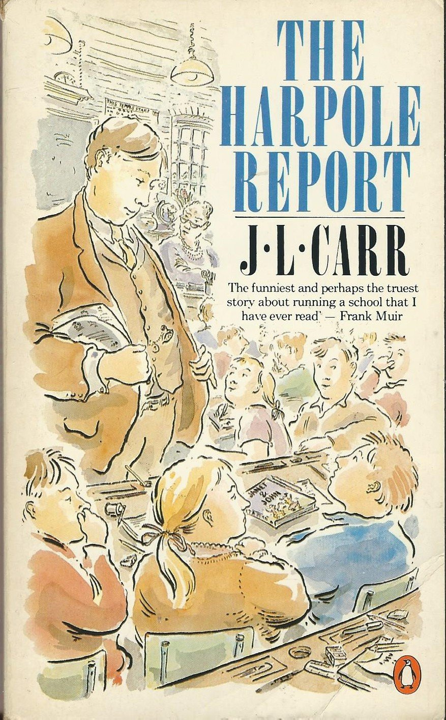 Image result for the harpole report by jl carr