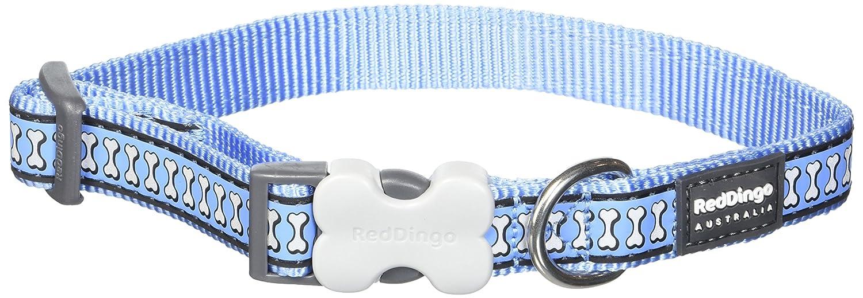 Red Dingo Reflectante Color Azul Collar de Perro, Mediano/Grande ...