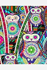"Reading Log: Gifts for Book Lovers / Reading Journal [ Softback * Large (8"" x 10"") * Carnival Owls & Books * 100 Spacious Record Pages & More... ] (Reading Logs & Journals) Diary"