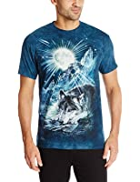 The Mountain Men's Wolf Night Symphony T-Shirt