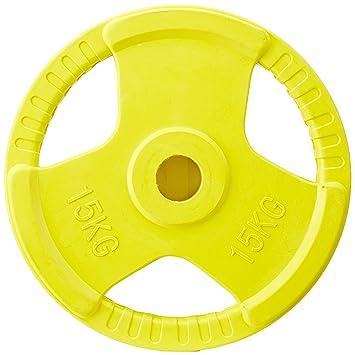 Gorilla Sports Pesas Olympia Adultos, 15 kg, Discos de Goma: Amazon.es: Deportes y aire libre