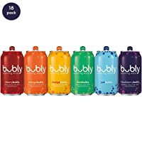 Deals on 18 Count Bubly Sparkling Water all for love pride Pack, 12oz Can