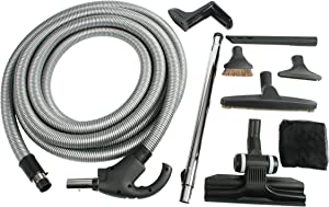 Cen-Tec Systems 93059 Central Vacuum Kit with Switch Control 50' Hose, 50 Ft