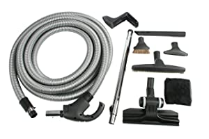 Cen-Tec Systems 93070 Central Vacuum Kit with Switch Control Hose 35'