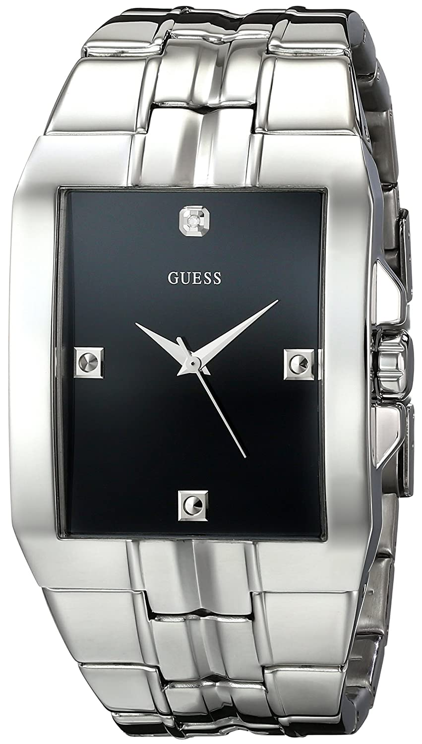 rectangular shop watch mens armani silver watches emporio