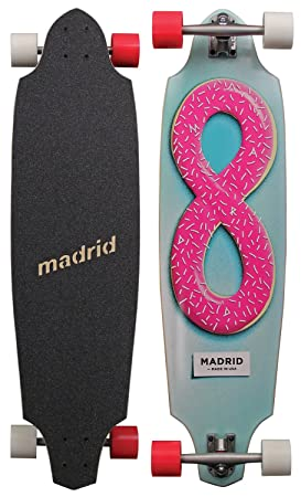 Madrid Longboard Squid 38 x 10 donut, 817956018399