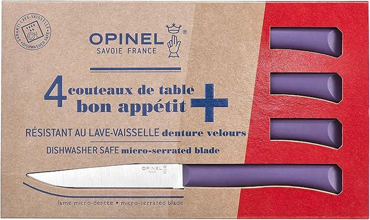 Opinel 254502 Juego de cuchillos de mesa, Acero: Amazon.es: Hogar