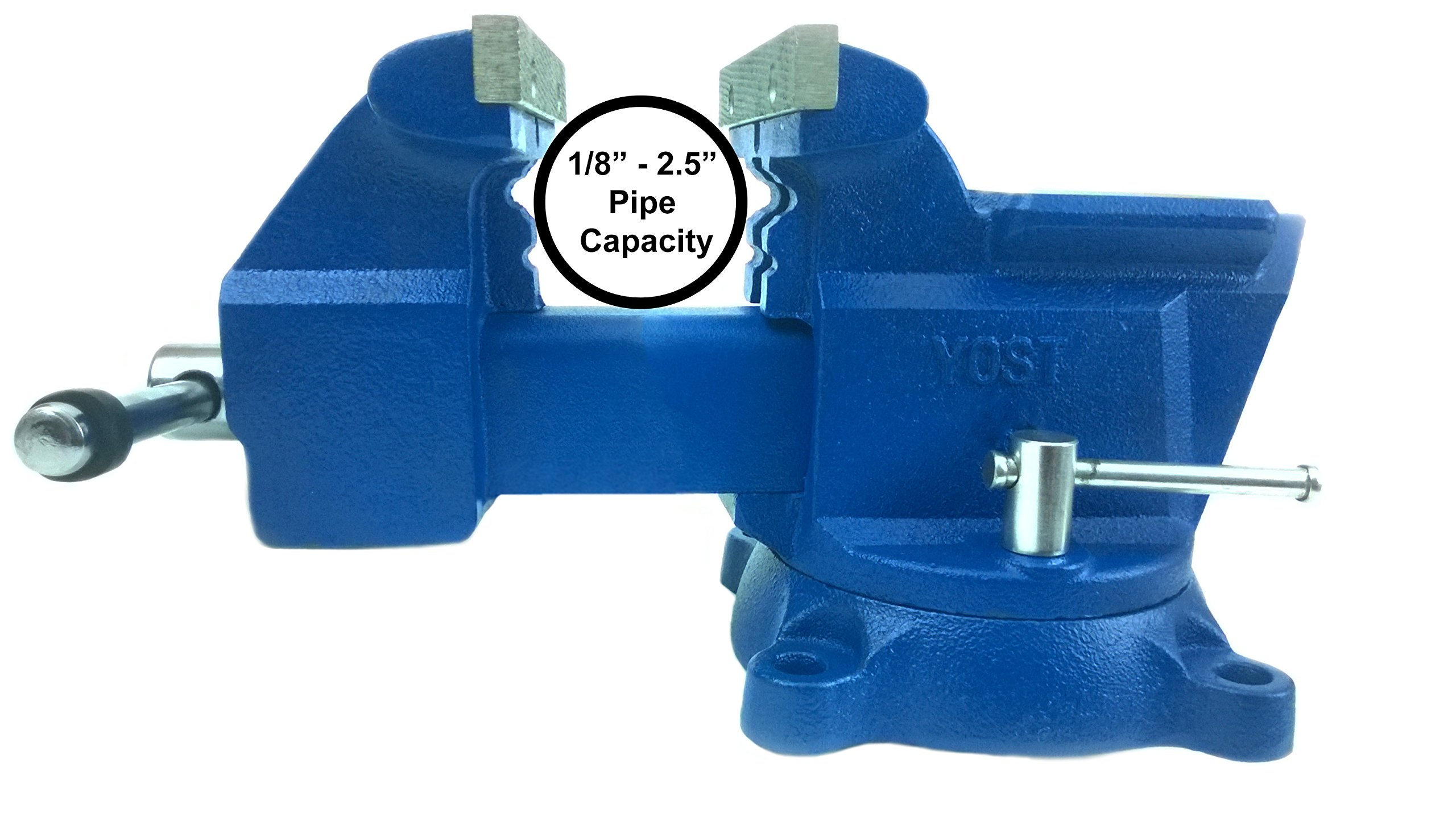 Yost Vises 465 6.5'' Combination Pipe and Bench Vise by Yost Tools (Image #5)