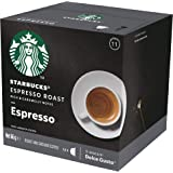 Starbucks Espresso Roast by NESCAFÉ Dolce Gusto Dark Roast Coffee Pods, Box of 12 Capsules, 66g (12 Serves)