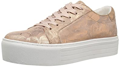 4197b9437402 Kenneth Cole New York Abbey Platform Leather Sneaker Rose Gold