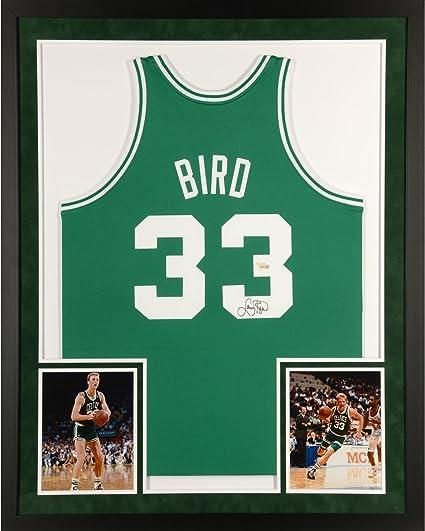 NBA Larry Bird Boston Celtics Pro Quotes Framed 11x14 Photo #3