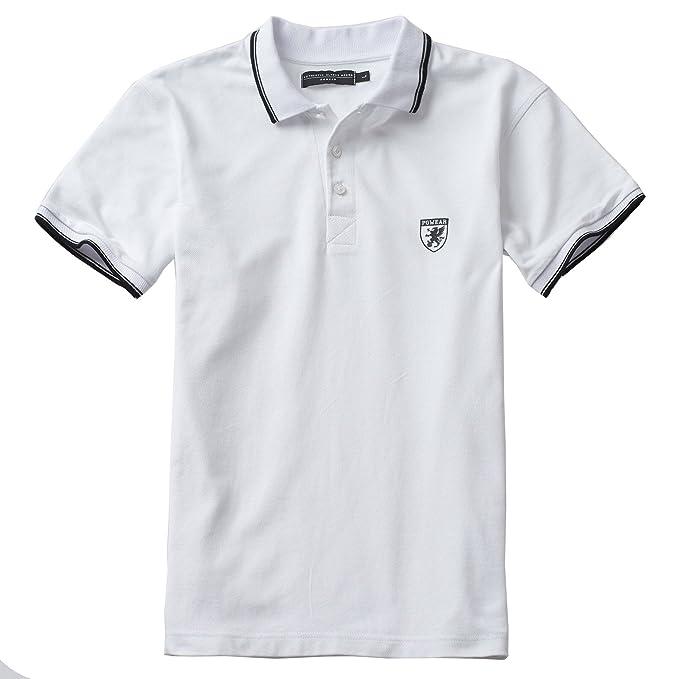 PG Wear - Polo - para Hombre Blanco XXXL: Amazon.es: Ropa y accesorios