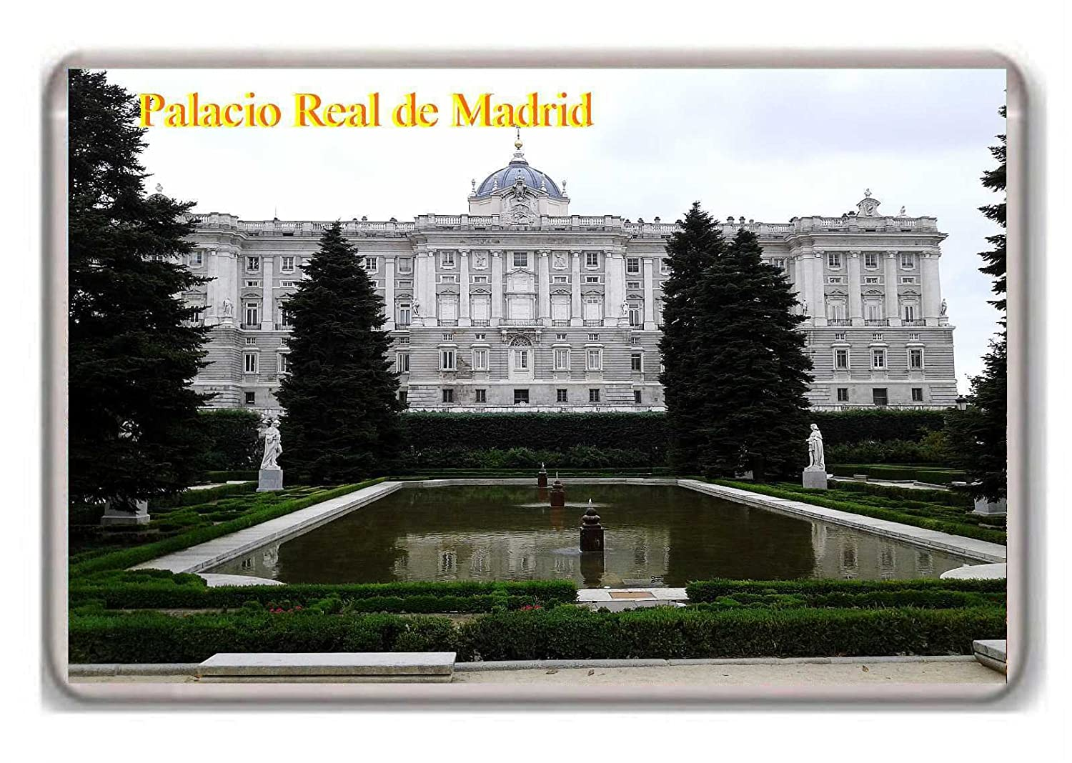Photosiotas Spain/Palacio Real de Madrid/fridge magnet.!!! - Calamita da frigo: Amazon.es: Hogar