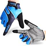 Cycling Gloves Mountain Bike Gloves Road Racing Bicycle Gloves Light Silicone Gel Pad Biking Gloves Bicycling Gloves Riding Gloves Men/Women Work Gloves