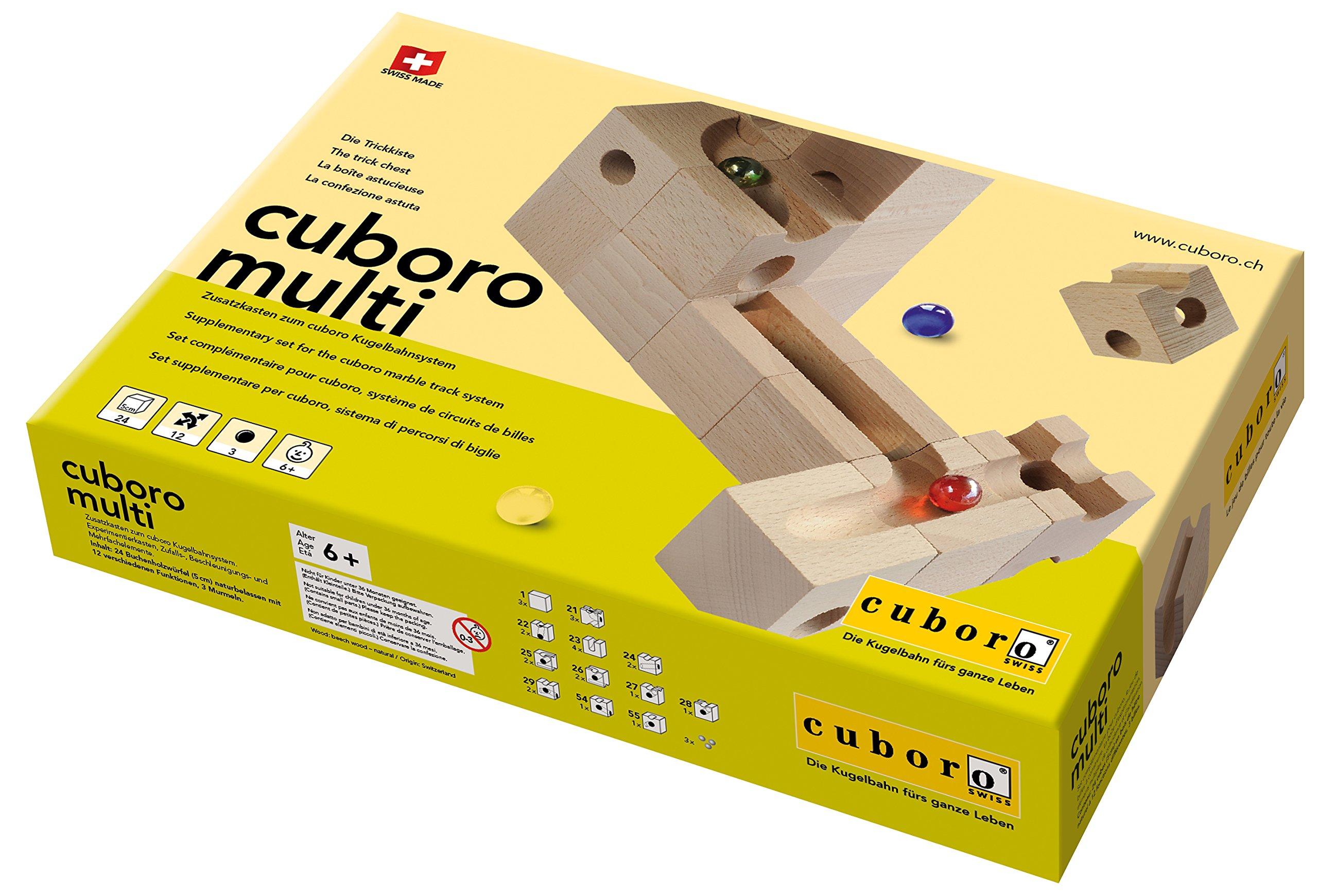 Cuboro Multi Marble Maze