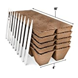 Seed Starter Peat Pots Kit | Germination Seedling